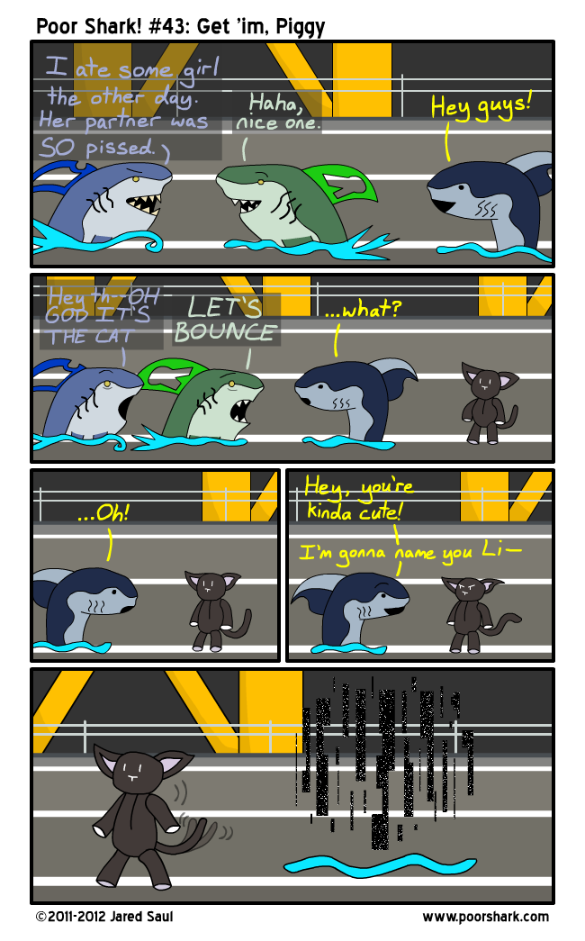 Those other two sharks weren't ready for a Beatdown.